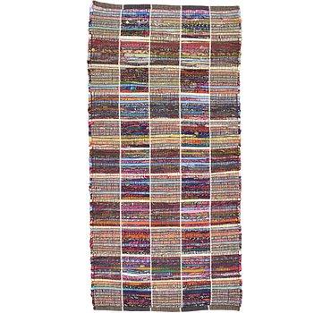 71x142 Kilim Dhurrie Rug