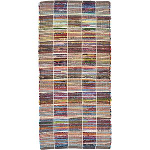 Unique Loom 2' 4 x 4' 9 Kilim Dhurrie Rug