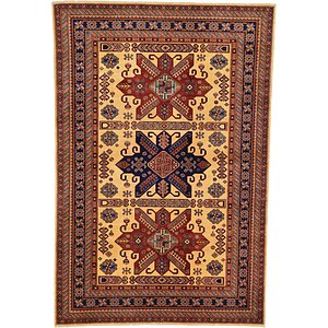 5' 9 x 8' 7 Kazak Oriental Rug