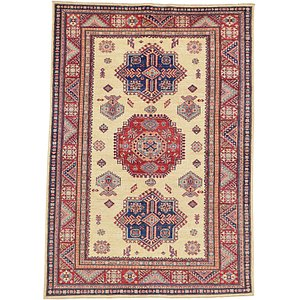 5' 2 x 7' 3 Kazak Oriental Rug