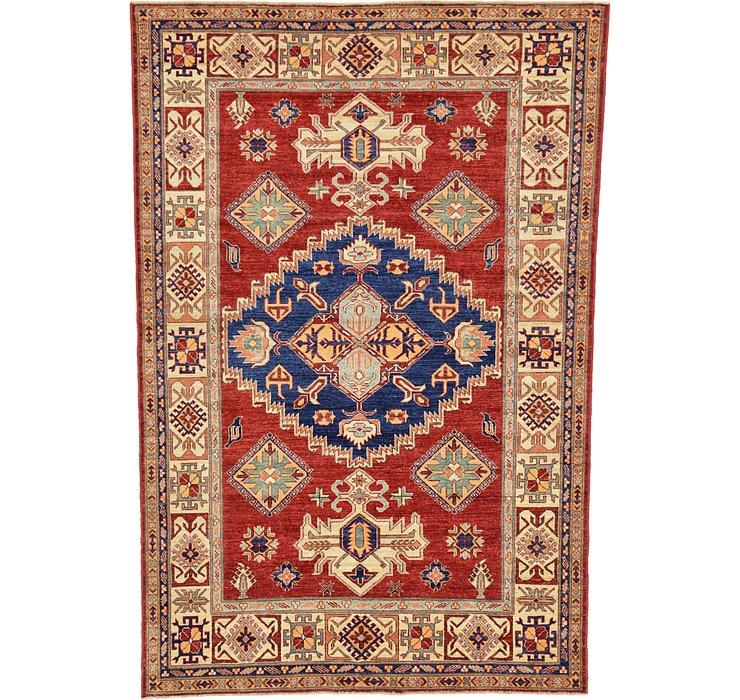 5' 9 x 8' 6 Kazak Oriental Rug