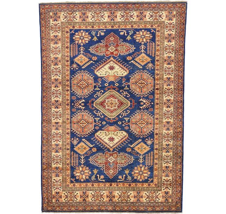 6' x 8' 6 Kazak Oriental Rug