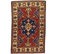 Link to 3' 3 x 5' Kazak Oriental Rug