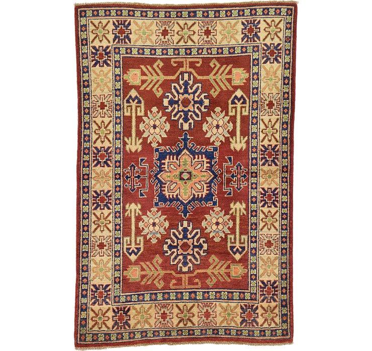 3' 4 x 5' 2 Kazak Oriental Rug