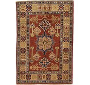 Link to Unique Loom 3' 3 x 4' 9 Kazak Oriental Rug