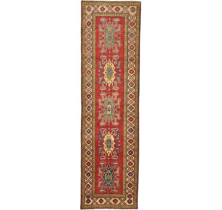 2' 9 x 9' 8 Kazak Oriental Runner Rug