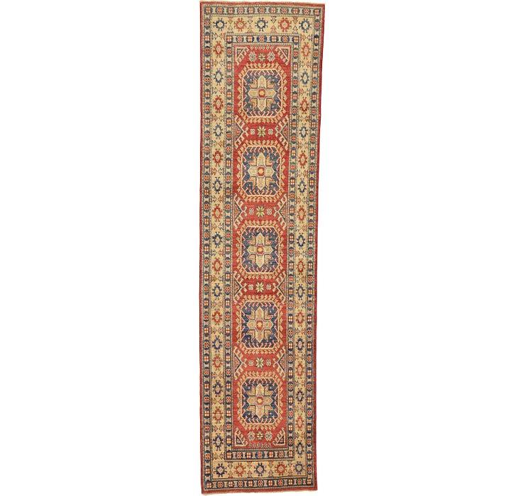 2' 7 x 10' 10 Kazak Oriental Runner Rug