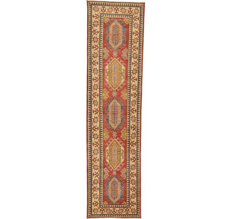 2' 8 x 10' 3 Kazak Oriental Runner Rug