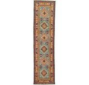 Link to 2' 7 x 9' 9 Kazak Oriental Runner Rug