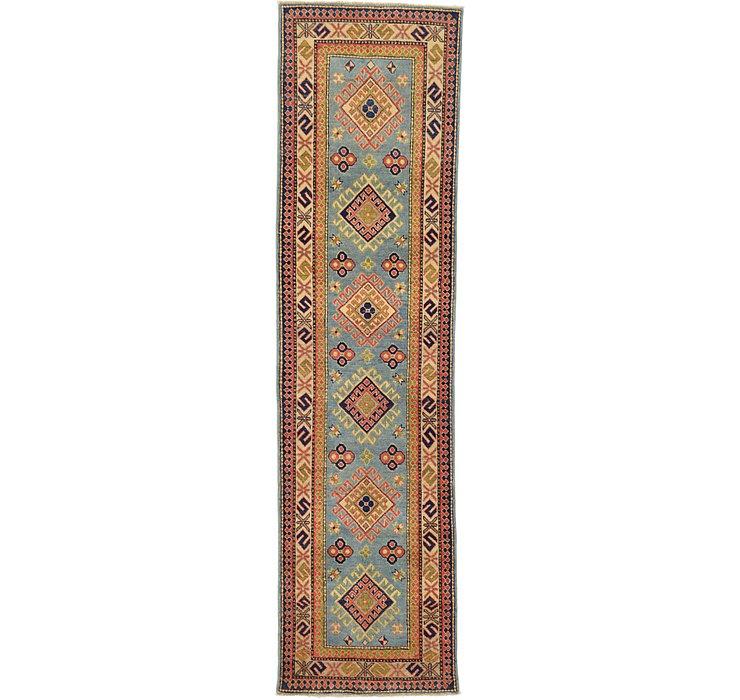 2' 7 x 9' 9 Kazak Oriental Runner Rug