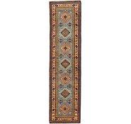 Link to 80cm x 310cm Kazak Oriental Runner Rug