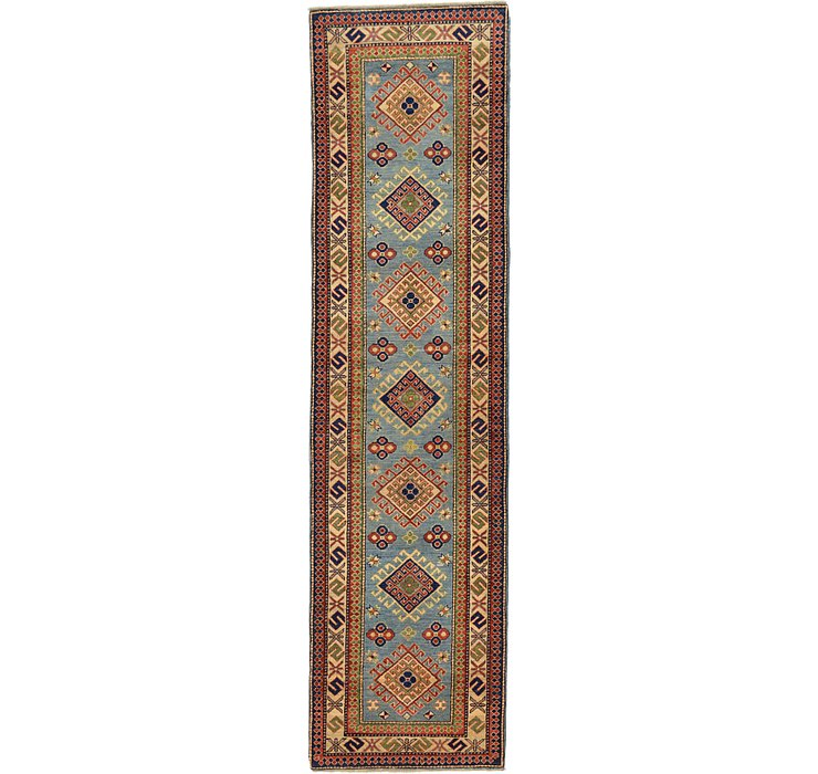 2' 8 x 10' 2 Kazak Oriental Runner Rug