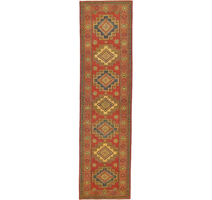 2' 8 x 10' Kazak Oriental Runner Rug