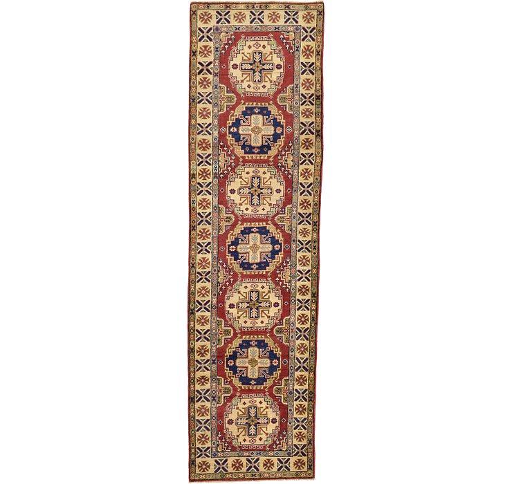 2' 9 x 9' 9 Kazak Oriental Runner Rug