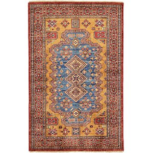 3x5 Yellow Kazak  Rugs!