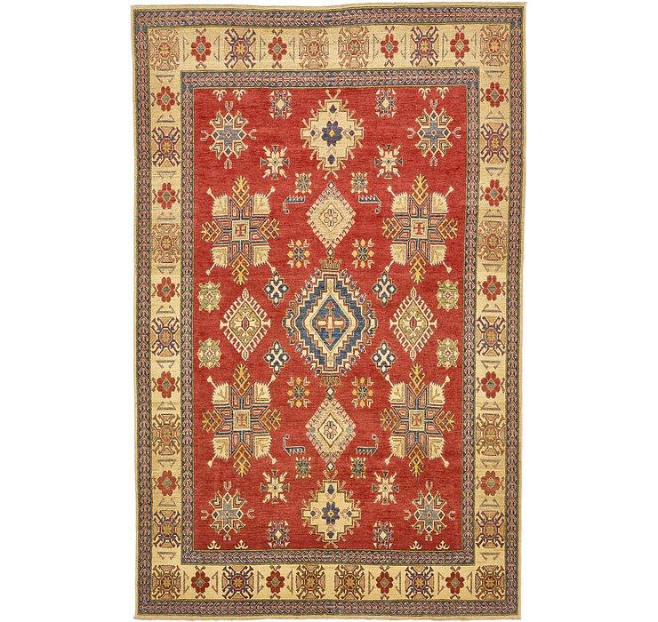 7' 4 x 11' 6 Kazak Oriental Rug