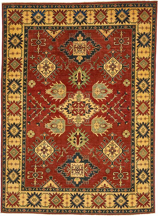 Red 7 X 9 6 Kazak Oriental Rug Oriental Rugs Irugs Uk