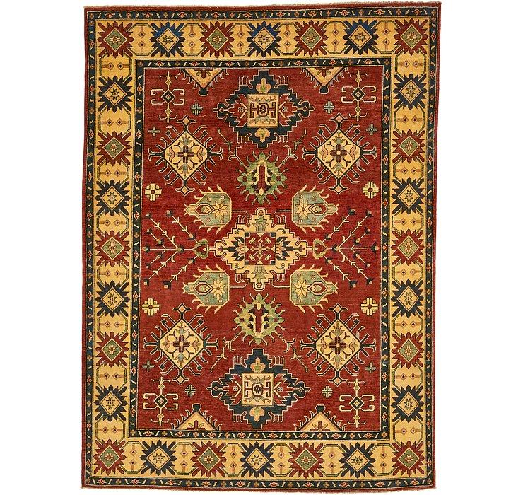 7' x 9' 6 Kazak Oriental Rug