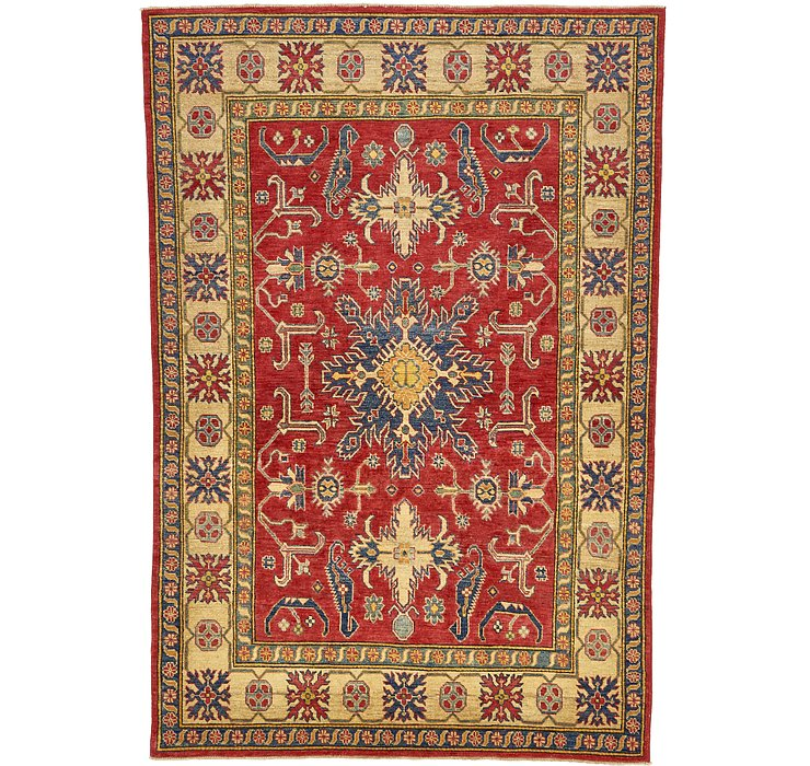 5' 10 x 8' 8 Kazak Oriental Rug