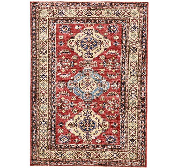 5' 7 x 7' 10 Kazak Oriental Rug