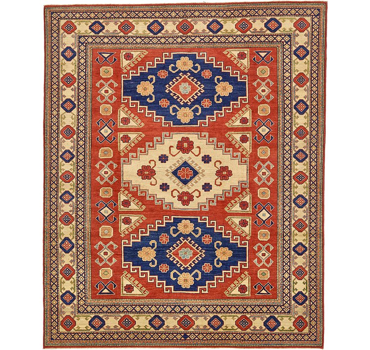 8' x 9' 9 Kazak Oriental Rug