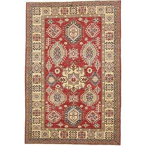 Unique Loom 5' 9 x 8' 7 Kazak Oriental Rug