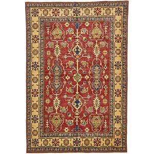 HandKnotted 6' x 8' 10 Kazak Oriental Rug