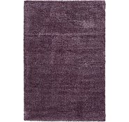 Link to 6' 7 x 9' 9 Luxe Solid Shag Rug