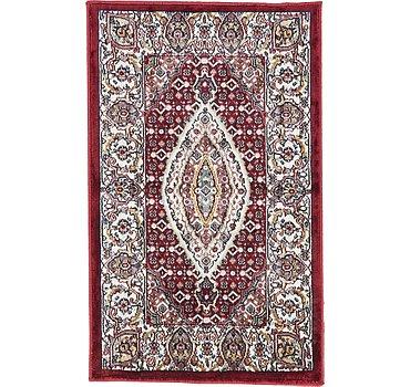48x81 Tabriz Design Rug