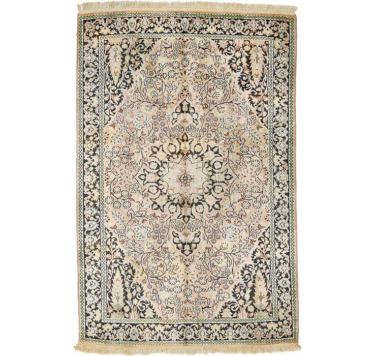 4' x 6' 4 Kashmir Oriental Rug