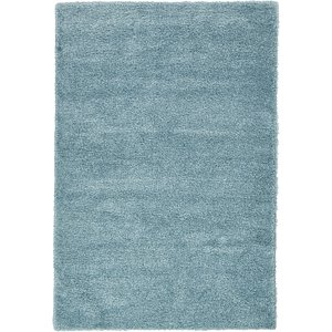 6' 7 x 9' 8 Luxe Solid Shag Rug