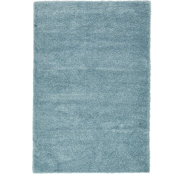 201x295 Luxe Solid Shag Rug
