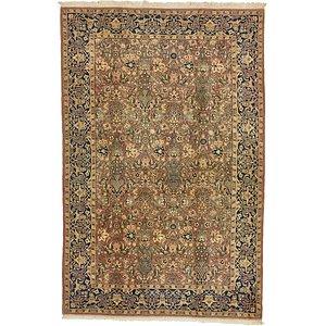 6' 5 x 9' 9 Kashmir Oriental Rug