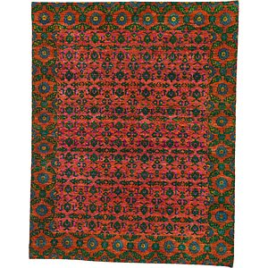 HandKnotted 7' 10 x 10' Sari Rug