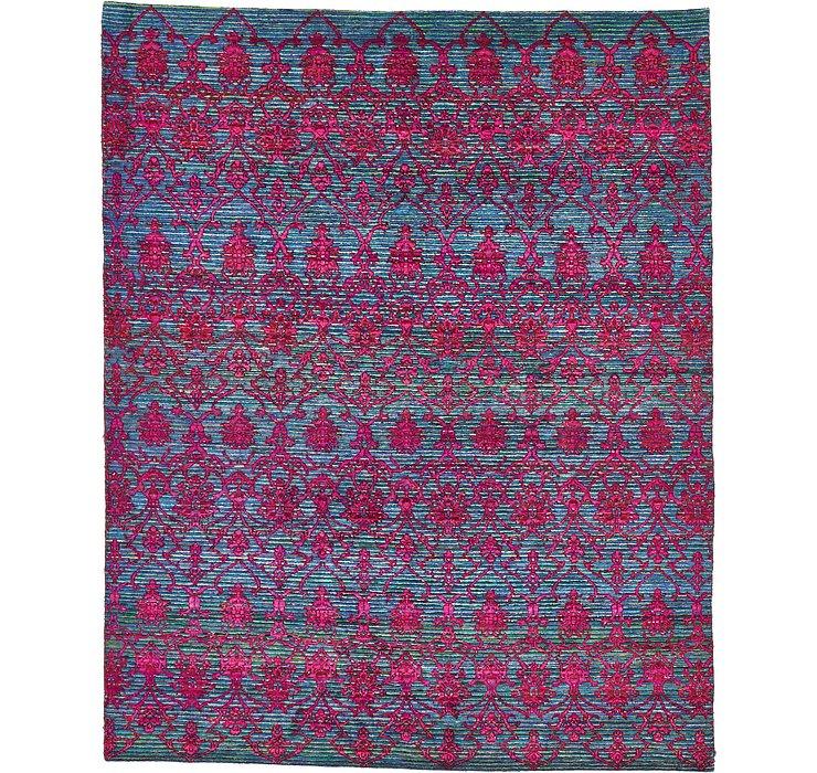 HandKnotted 7' 7 x 9' 5 Sari Rug