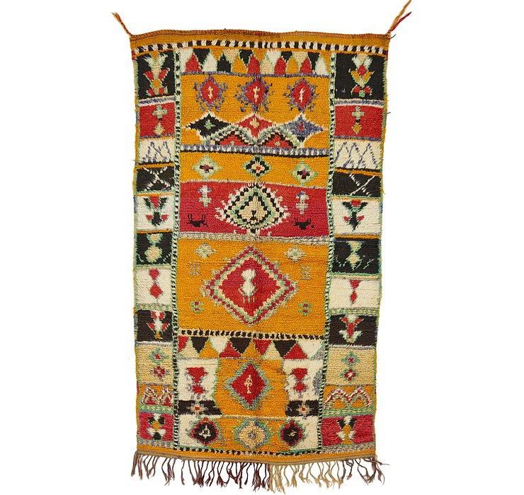 4' 4 x 7' 4 Moroccan Rug