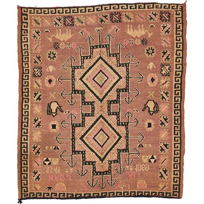 4' 10 x 5' 8 Moroccan Rug