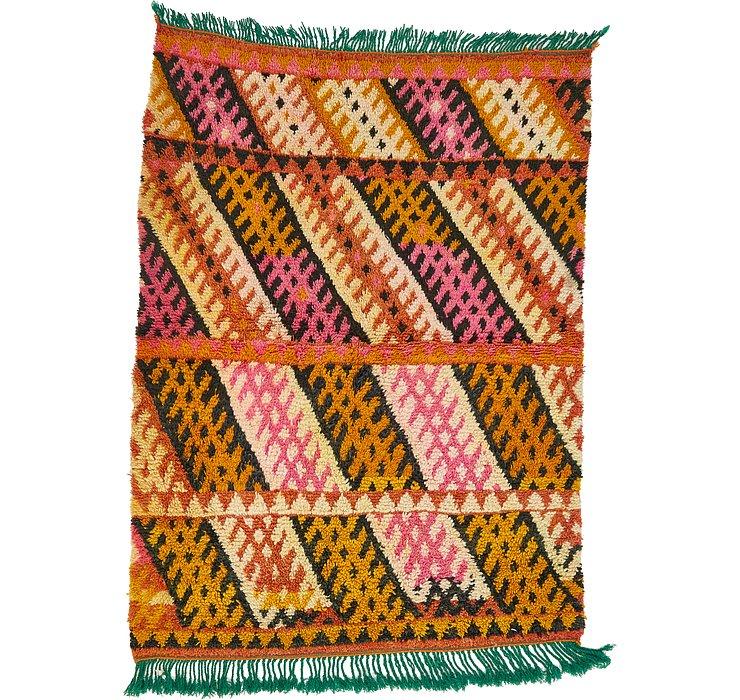 3' 8 x 5' Moroccan Rug