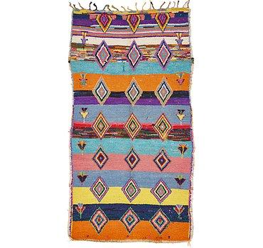 109x208 Moroccan Rug