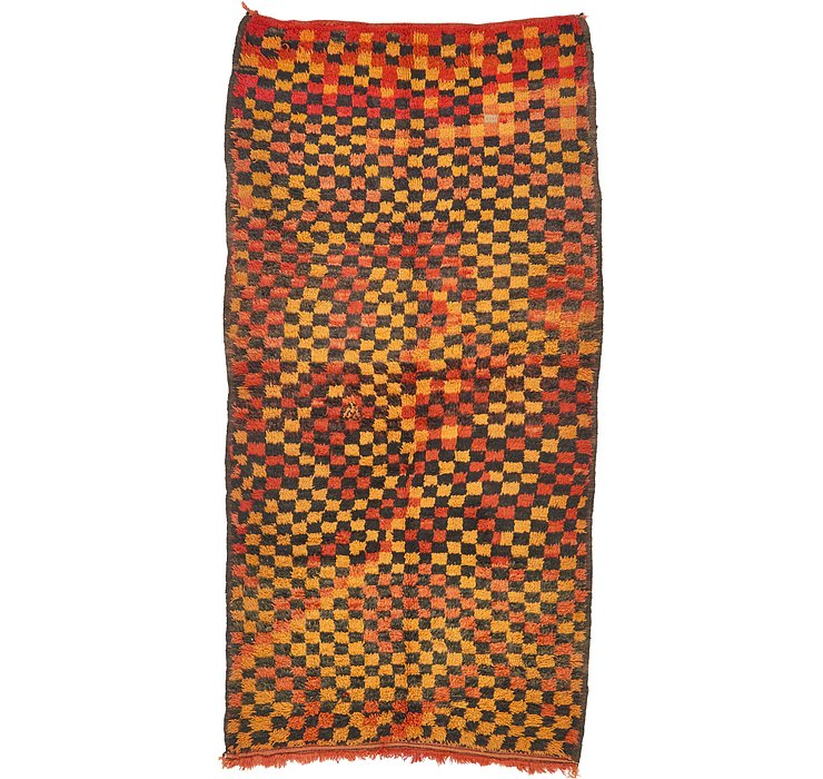 4' 5 x 8' 6 Moroccan Rug