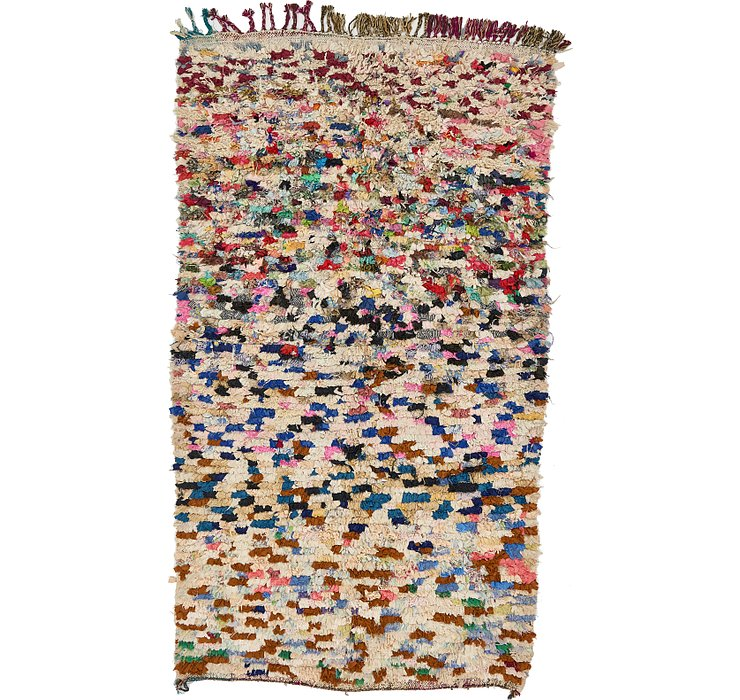 HandKnotted 4' x 7' 2 Moroccan Rug