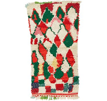 71x132 Moroccan Rug