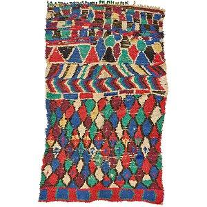 4' 5 x 7' 3 Moroccan Rug