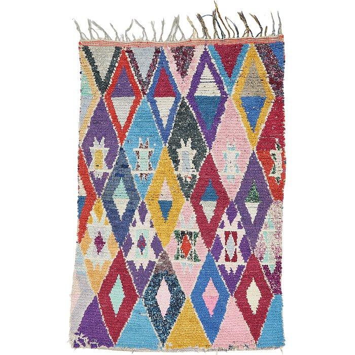 3' 3 x 6' 3 Moroccan Rug
