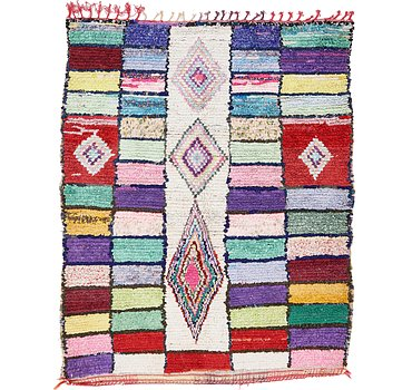 142x175 Moroccan Rug