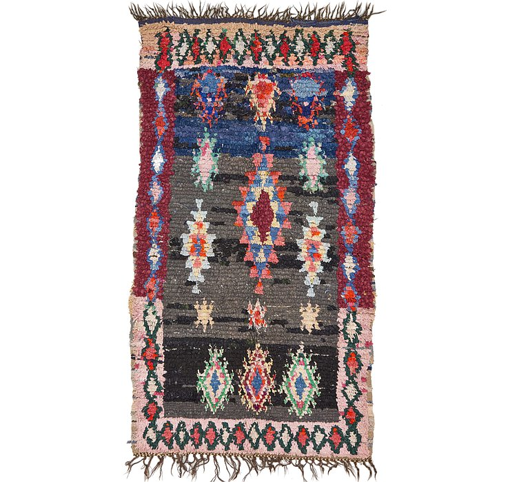 4' 4 x 8' Moroccan Rug