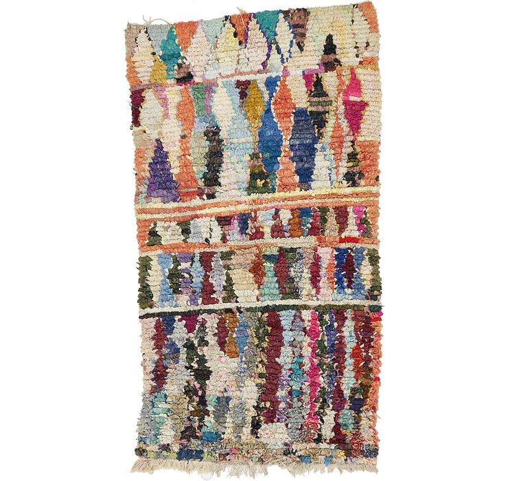 3' 9 x 6' 8 Moroccan Rug