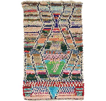 117x198 Moroccan Rug