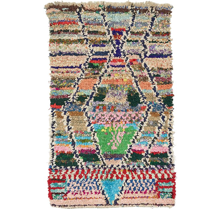 HandKnotted 3' 10 x 6' 6 Moroccan Rug