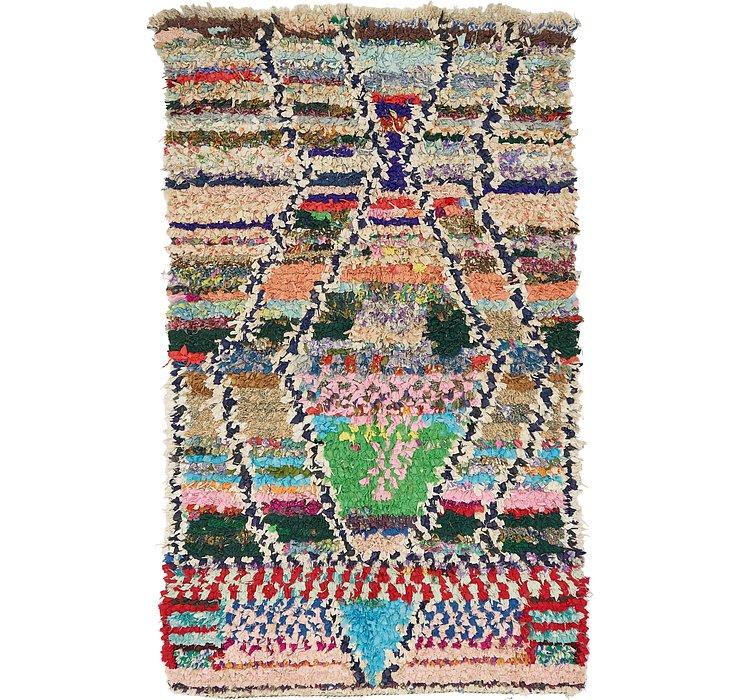 3' 10 x 6' 6 Moroccan Rug